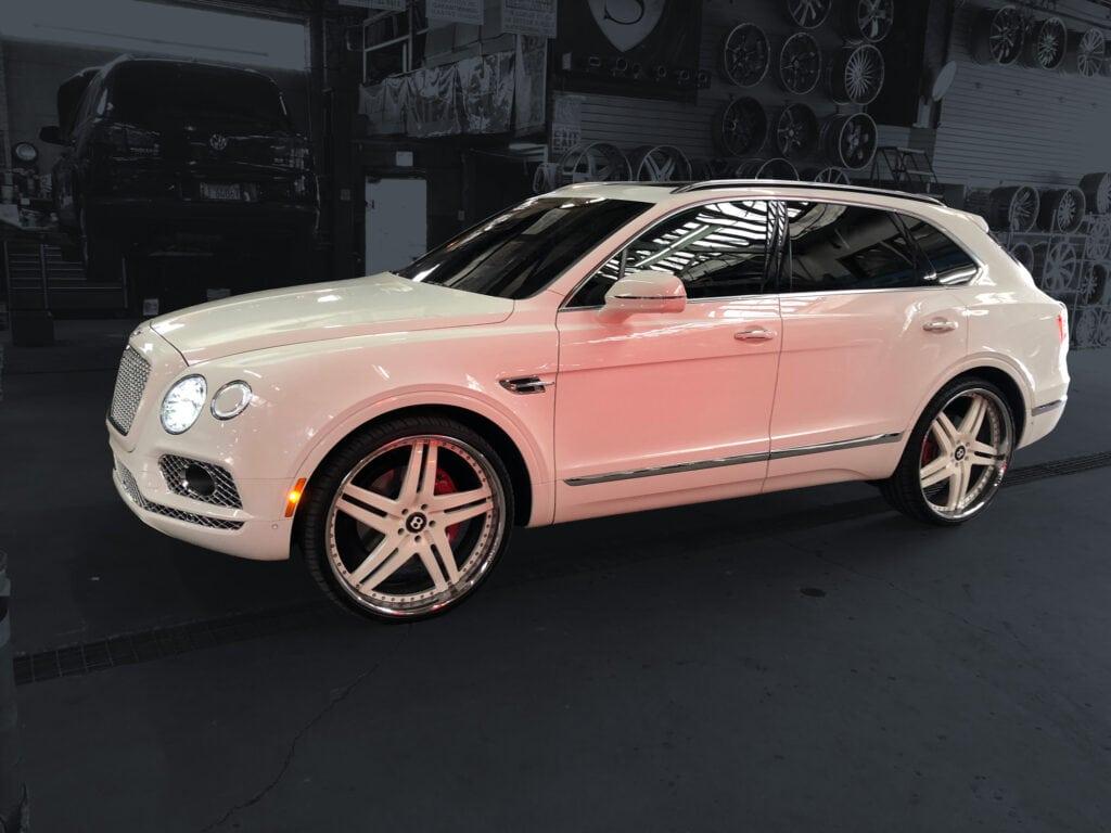 Bentley Truck White Wheels