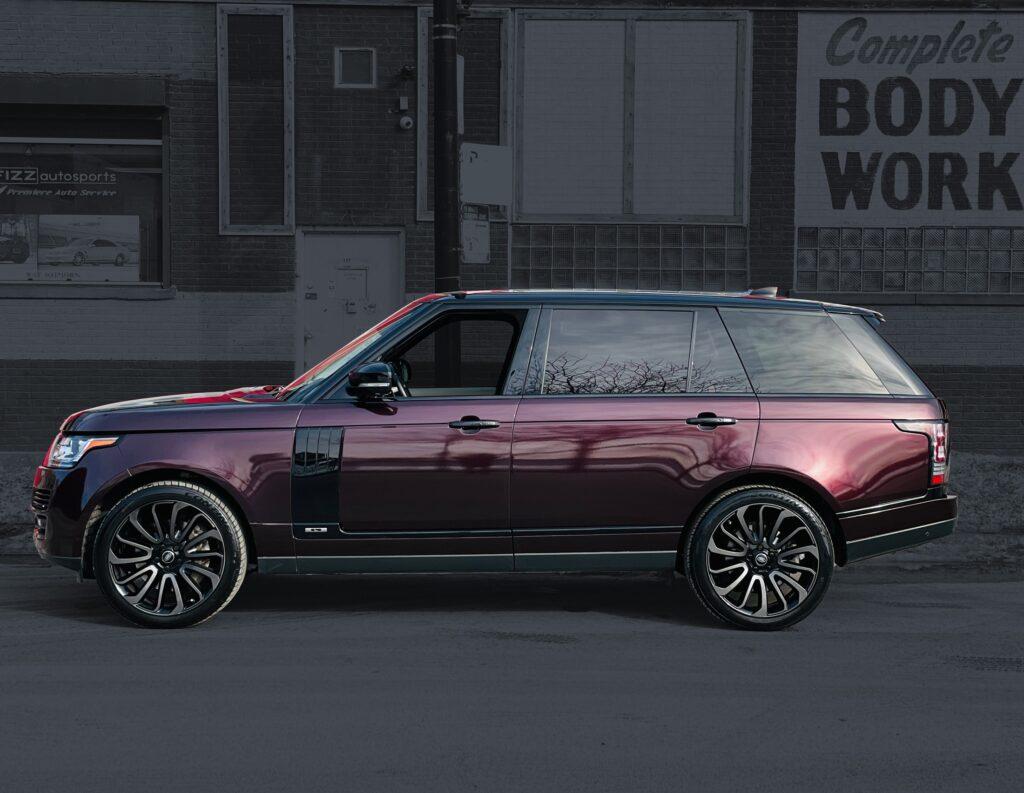 range rover vinyl wrap