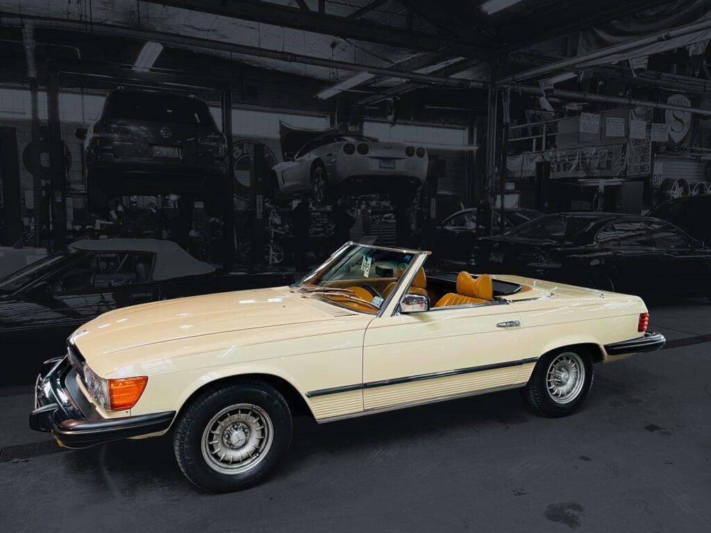 79 Mercedes 450 SL Convertible