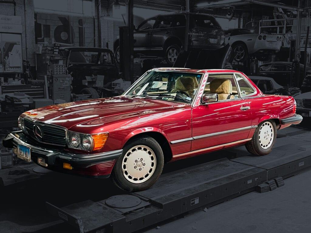 89 Mercedes 560SL