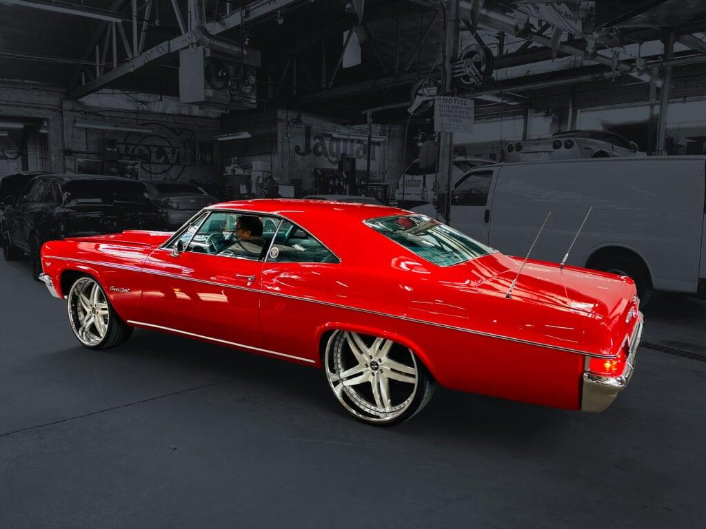 car restoration 66 impala ss